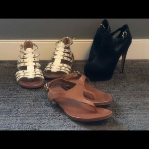 Aldo Shoes! size 8 bundle!